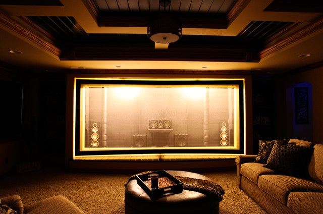Martin Theater - Acoustically Transparent Screen - Craftsman - Home on mid century modern home theater, motorola home theater, bosch home theater, behr paint home theater, rustic home theater, farmhouse home theater, european home theater, tuscan home theater, genie home theater, multi level home theater, sharp home theater, samsung home theater, architect home theater, white home theater, ultra modern home theater, southern home theater, ge home theater, log home home theater, cabin home theater, titan home theater,