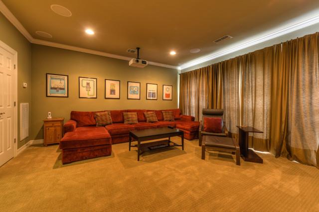 Media / Home Theatre contemporary-home-theater