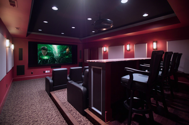 Media Room and Home Theater traditional-home-theater