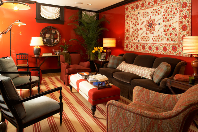 Media Room traditional-home-theater