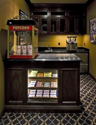 Media Room candy bar