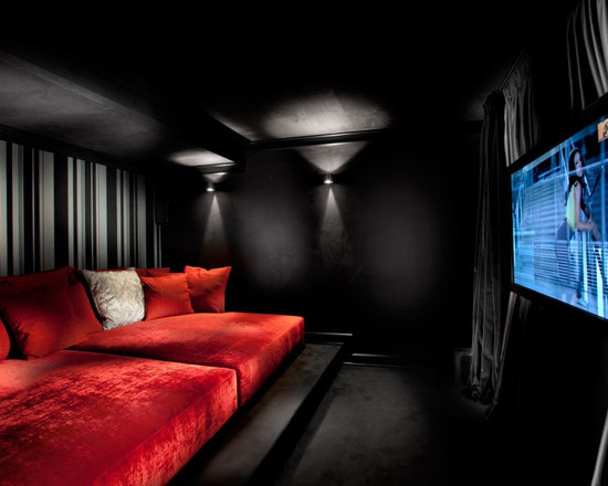 home theater riser home design ideas pictures remodel and decor