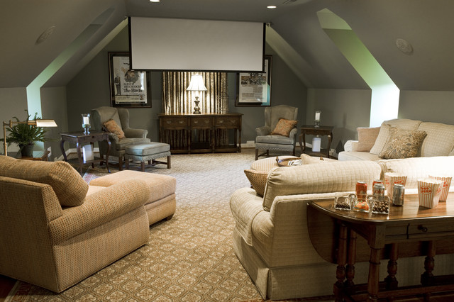 room eclectic home theater richmond by kirsten nease designs