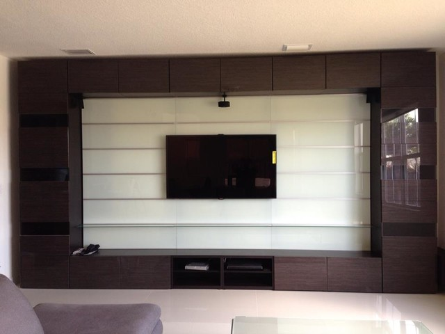 Media Rooms (Various) contemporary-home-theater