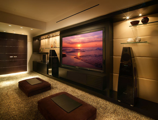 Media Room Design 5 tips to turn your basement into a media room