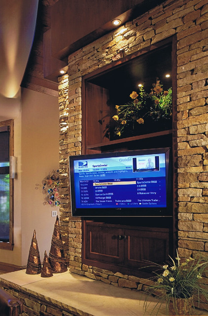 Michael M. Residence traditional-home-theater