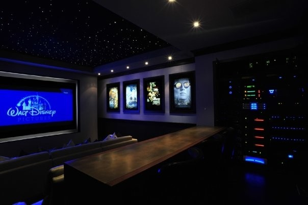 MICHAEL MOLTHAN LUXURY HOMES INTERIOR DESIGN GROUP Traditional Home Theater
