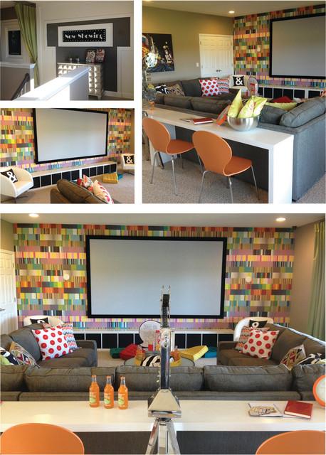 Modern Home Theater modern-home-theater
