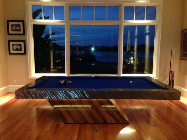 Modern Pool Table By MITCHELL Pool Tables Contemporary Home Theater