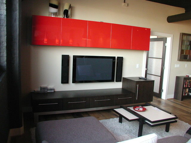 Modern style pics contemporary-home-theater