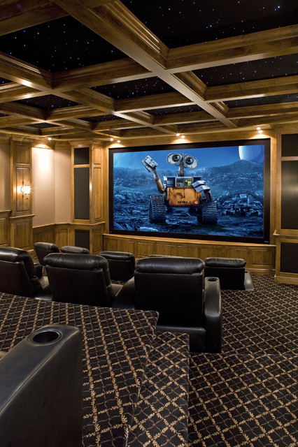 Movie Theater Traditional Home Theater Minneapolis By John Kraemer A