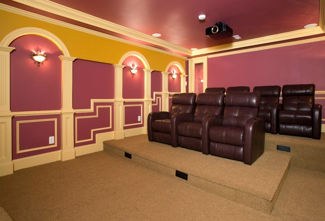 basement movie theater movie theatre highlights full basement remodel