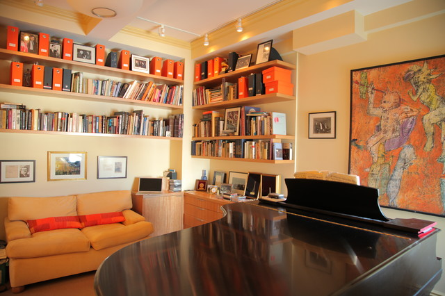 Music Studio traditional-home-theater