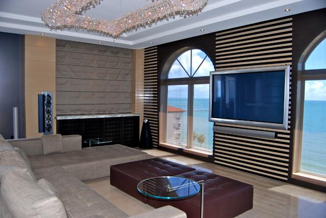 NEFF contemporary-home-theater