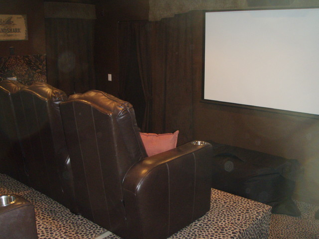 New Construction in Tool TX 0410 traditional-home-theater