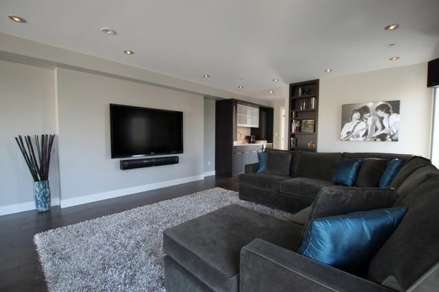 New Edinburgh - Noel Street contemporary-home-theater