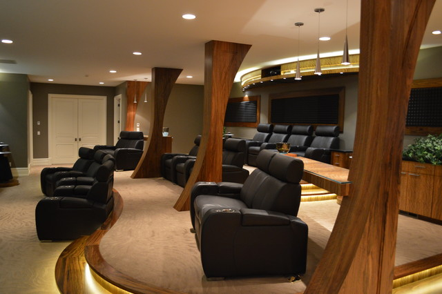 North Orem Residence Asian Home Theater Salt Lake