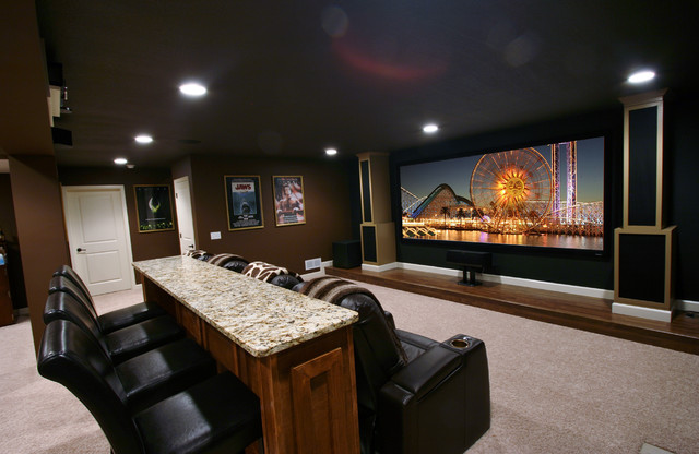 Open Concept Home Theater