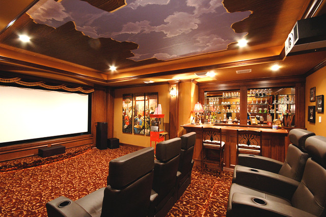 Open Sky Theater Room