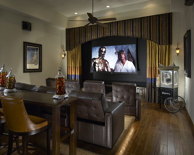 Ownby Design  media room