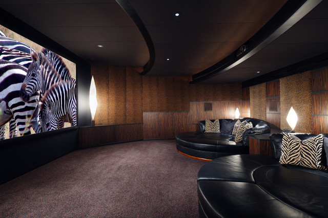 Palm Desert Theater contemporary media room