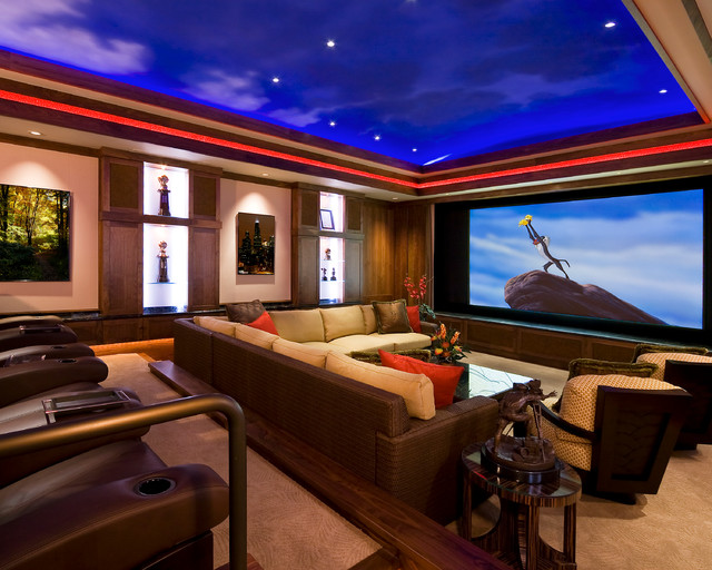 Pass The Popcorn traditional-home-theater