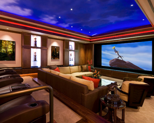 Top 10 Home Theater Design Ideas | Poweruphome