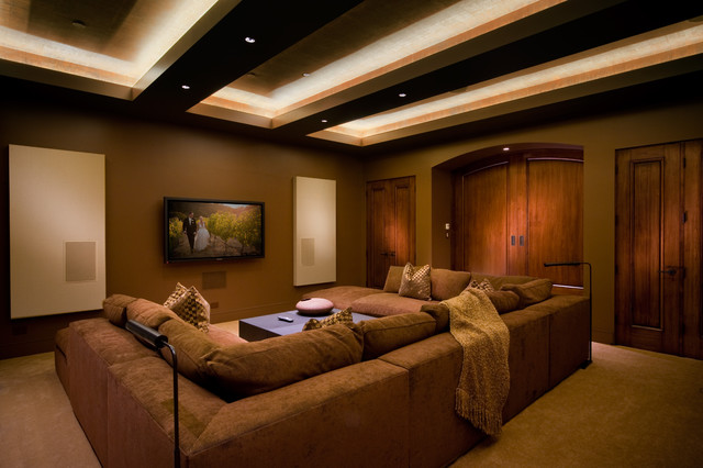 Double Tray Ceiling Rope Lighting Houzz - Rope lights in bedroom