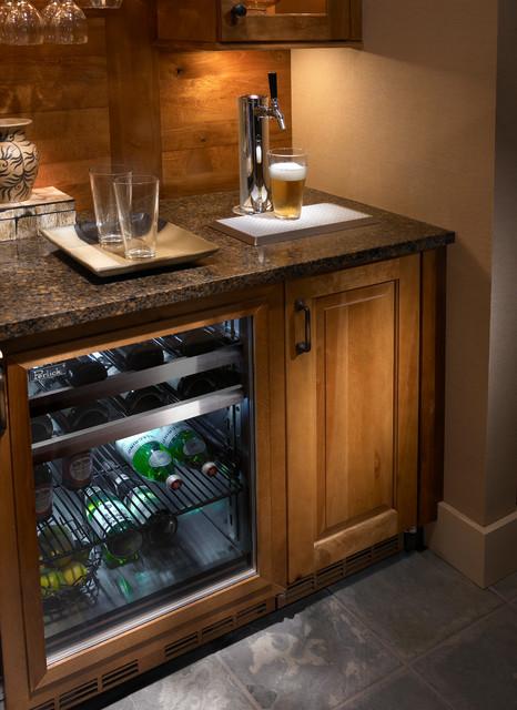 Coffee Bar With Mini Fridge Kitchens