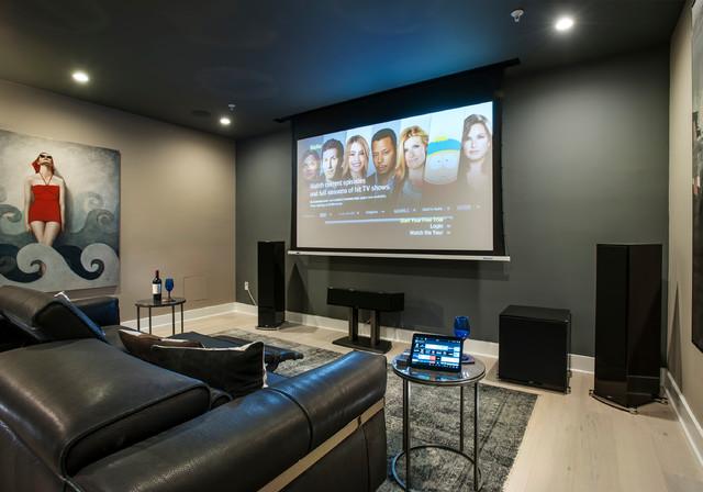 Philadelphia Magazine Design Home 2016 Modern Heimkino Philadelphia Von Wpl Interior Design