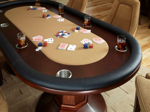 Poker Tables Contemporary Home Theater Houston By Billiard Factory