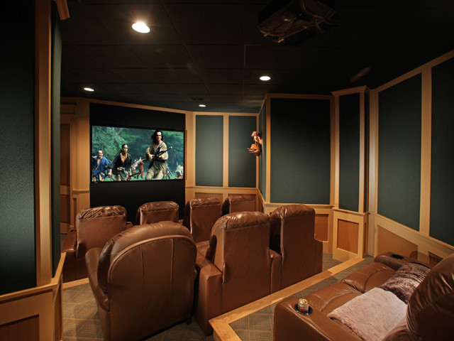Ponderosa traditional-home-theater