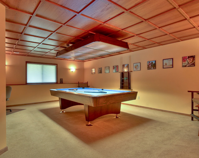 Pool room modern home theater minneapolis by 5th for Pool room design uk