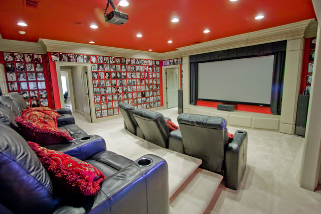 Pop Culture Cinema Traditional Home Theater Little
