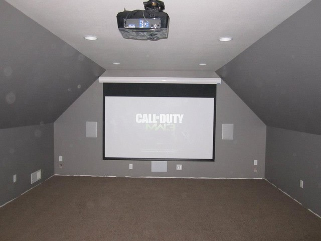 Media Room Over Garage Homes Decoration Tips