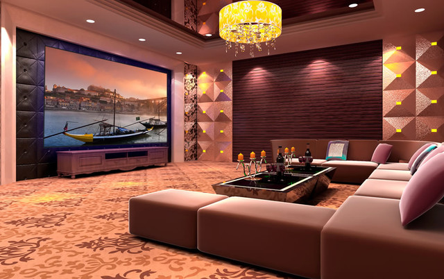 Projector Screens Mirror TVs Creative TV Mounts Modern Home Theater