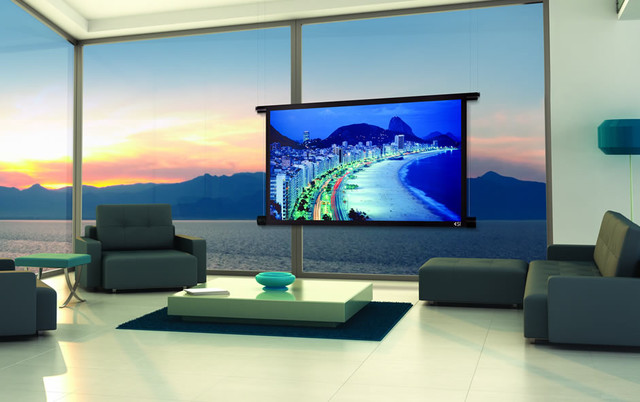 Projector screens mirror tv 39 s creative tv mounts for Mirror projector