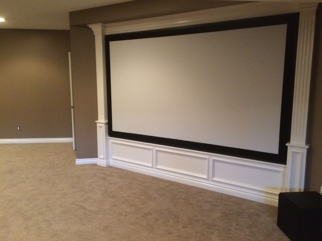Projector Theater Systems - Traditional - Home Theater - Detroit - by Feature Presentation Audio ...