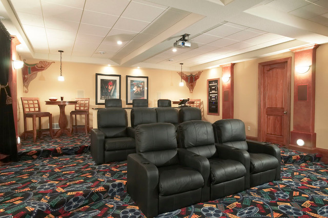 Rec Rooms/Entertaining traditional-home-theater