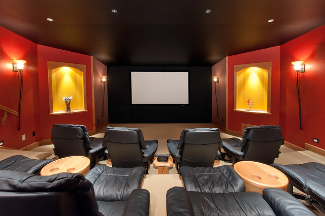 Recent Work Traditional Home Theater Vancouver By Blurrdmedia