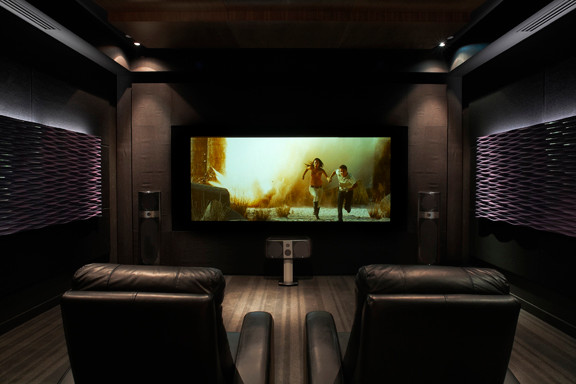 Inspiration For A Modern Home Theater Remodel In Montreal