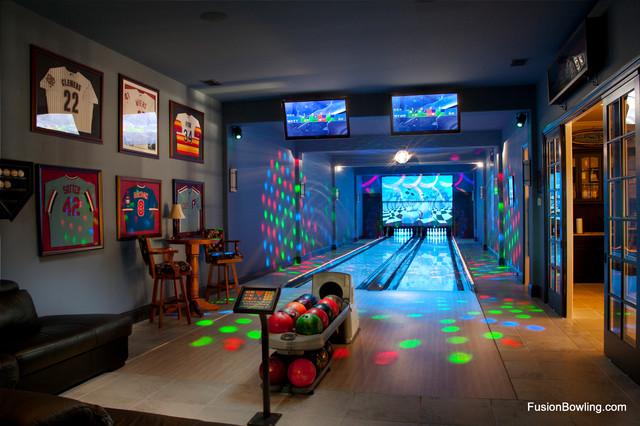 Residential Bowling Alley Lanes for Philadelphia Phillies Baseball ...