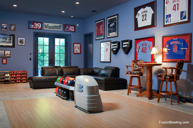 Residential Bowling Alley Lanes For Philadelphia Phillies Baseball Player S Home