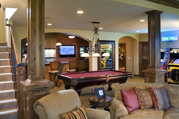Royal Oaks Design, Inc. traditional media room