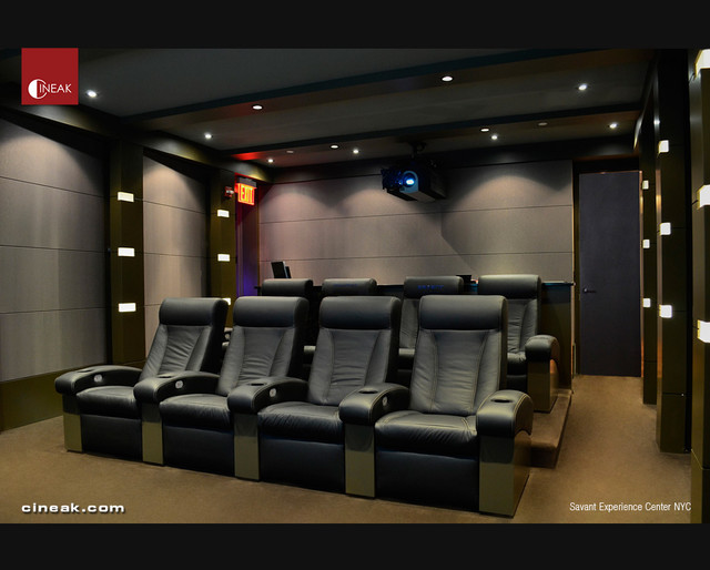SAVANT Experience Center NYC with Cineak Seats