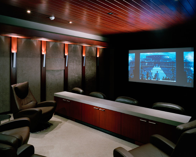 Shimmon Residence - Contemporary - Home Theater - San Francisco - by ...