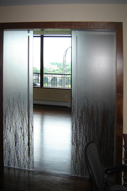 Shoji Door Barn Door Sliding Door Contemporary Home