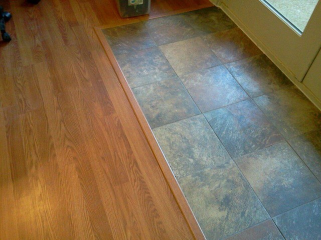 Tile and laminate flooring