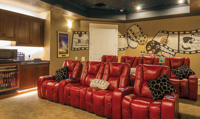Smart Wth A Smile - mediterranean - media room - tampa - by