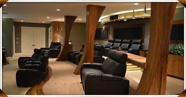 Some more resent projects contemporary-home-theater